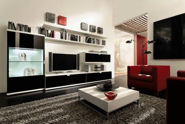 Выбираем мебель для просторной гостиной