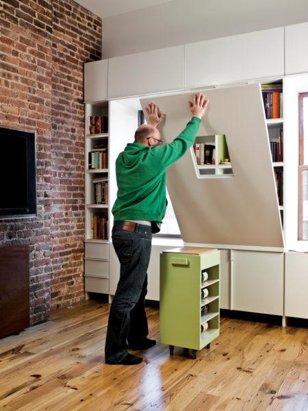 Как использовать мебель трансформер