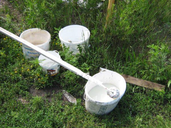 Меловой раствор – самый дешевый способ затенения, безопасный для поликарбоната