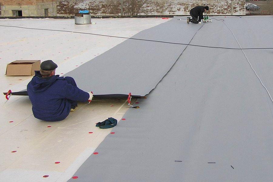 Как сделать крышу как крыть технониколем заливное