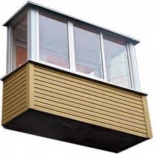 монтаж балконных крыш