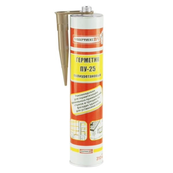 На фото - полиуретановый изолятор, он признается строителями наиболее прочным и надежным герметиком.