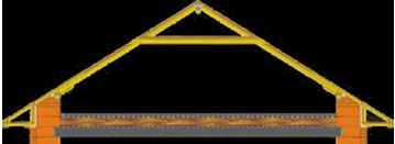 Наслонная система с ригелем