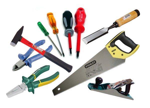 Необходимый инструмент наверняка найдется в каждом хозяйстве.
