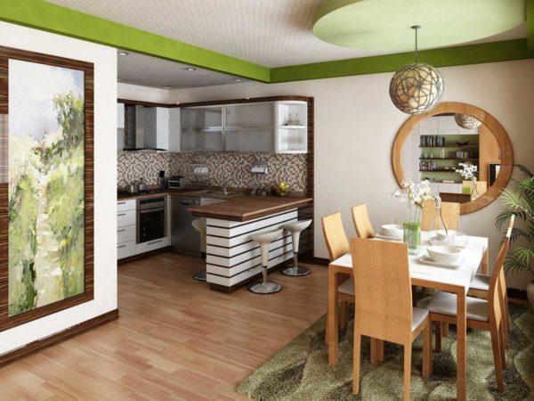 Как объединить кухню с гостиной и не нарваться на неприятности