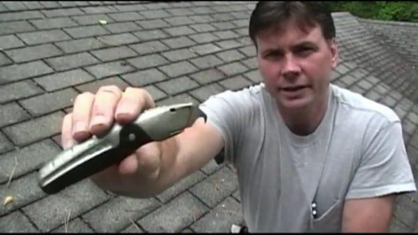 Нож для резки мягкой черепицы