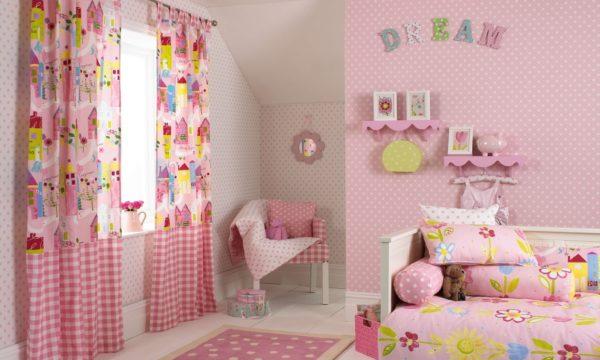 Из какого материала выбрать текстиль для детской комнаты