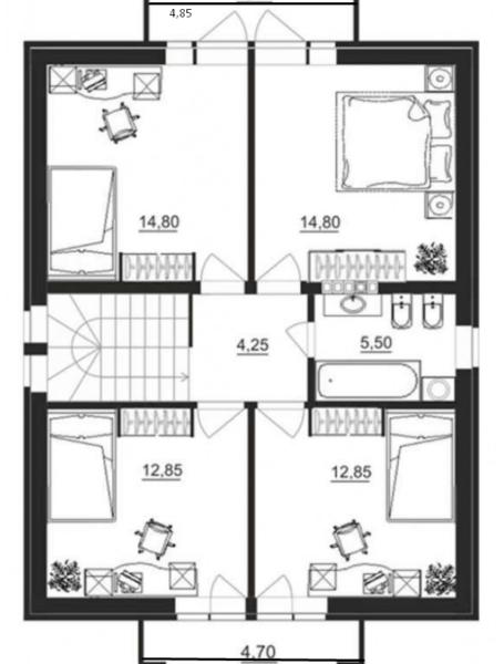 Обустройство балкона в мансарде может стать изюминкой вашего дома, но это не практично.