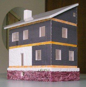 Односкатная крыша для дома своими руками