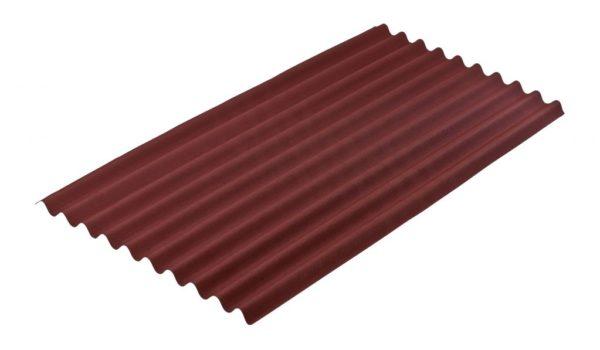Ондулин — легкий битумно-полимерный кровельный материал