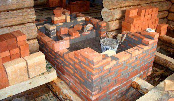 Основание, не испытывающее температурных воздействий, можно класть не на глине, а на цементе
