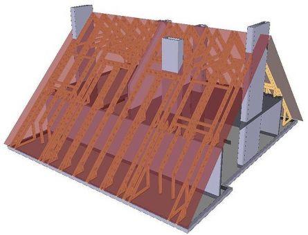 От выбора конструкции крыши зависит то, сможете ли вы использовать пространство под ней.