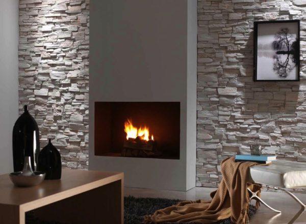 Какой выбрать декоративный камень для отделки стен в квартире