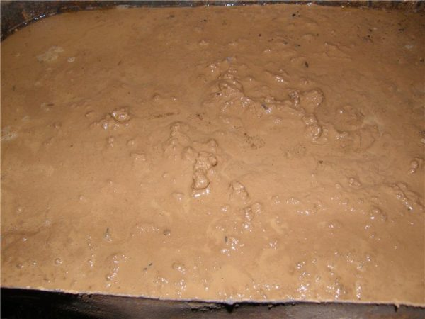 Перед началом приготовления глину желательно замочить