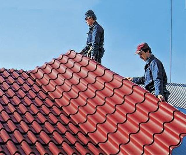 перекрыть крышу