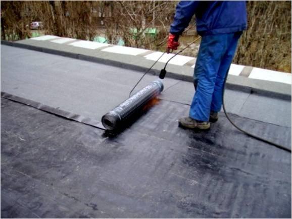 перекрытие крыши гаража