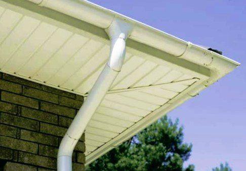 пластиковые сливы для крыши