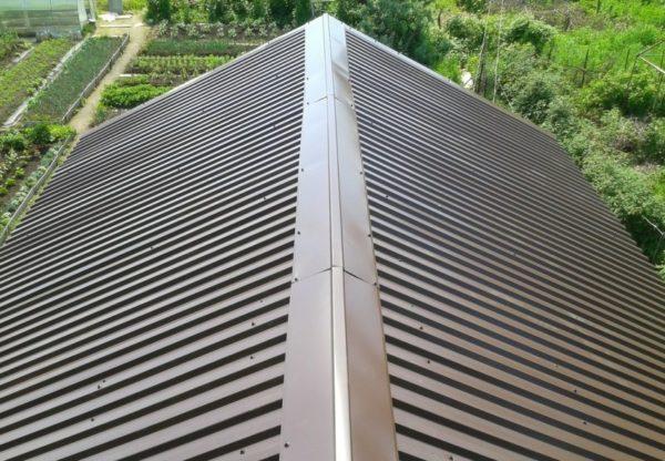 Конек крыши что это такое