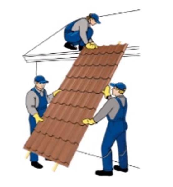 Видео как покрыть крышу металлочерепицей