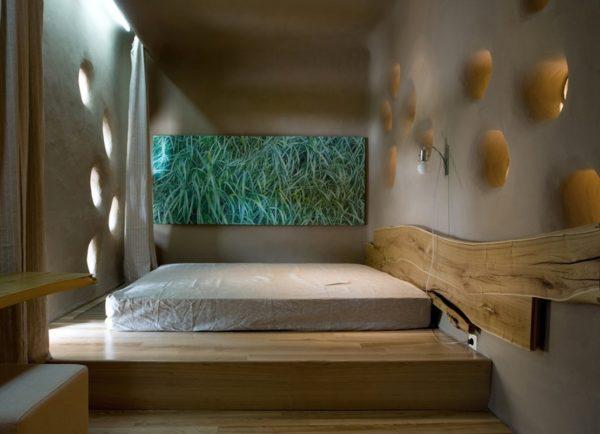 Преимущества кровати-подиума в спальне