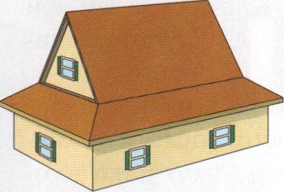 Пример крыши