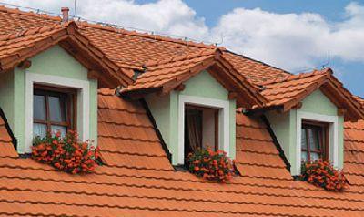 постройка дома крыши