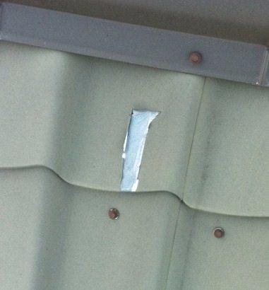 Повреждение защитного покрытия приводит к коррозии