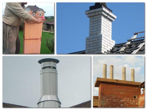 Правильно подобранная дымовая труба — это не только эффективность работы отопительной системы, но и отличный вид дома