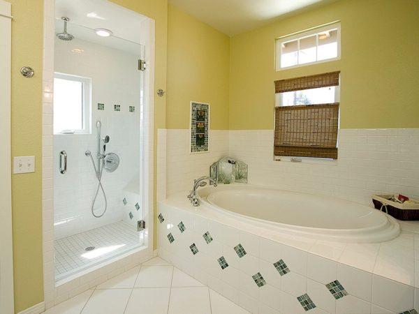 Как оформить стены в ванной комнате