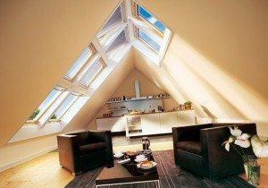проекты домов с мансардной крышей