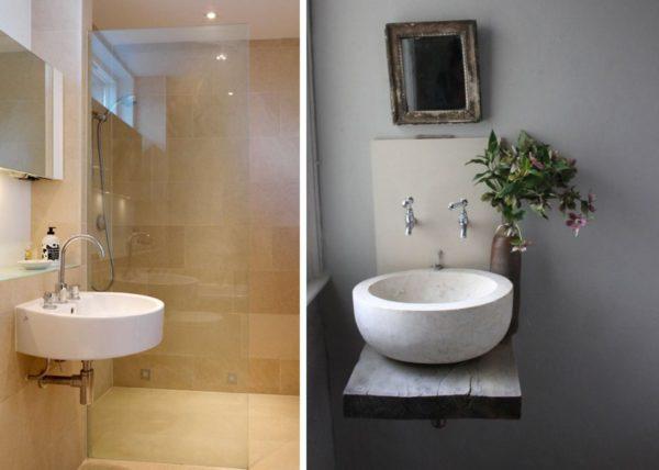 Как выбрать раковину в маленькую ванную