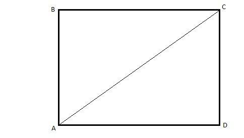 Расстояние между противоположными углами поверхности должно быть одинаковым