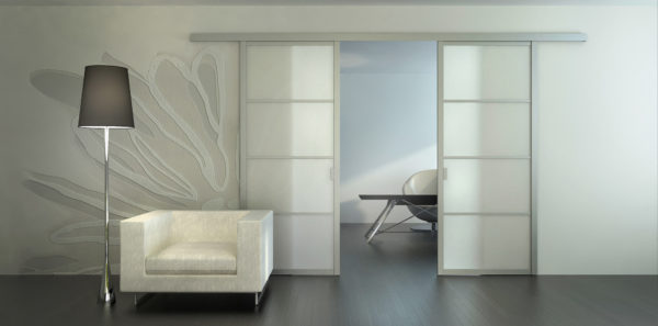 Преимущества и недостатки раздвижных межкомнатных дверей