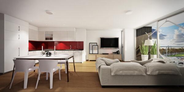 Как обустроить зону отдыха в квартире-студии
