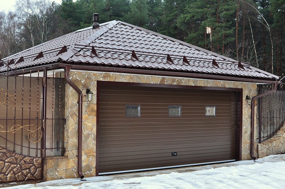 ремонт гаража крыши