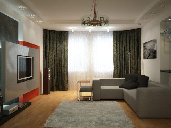 Как отделать интерьер гостиной своими руками