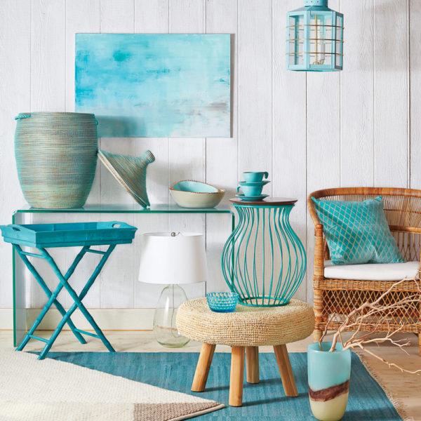 Как использовать бирюзовый цвет при обустройстве своей квартиры