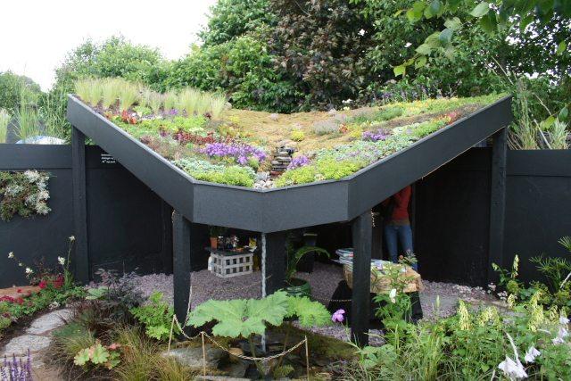 Сад на крыше используем площадь