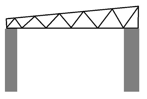 Схема металлических ферм