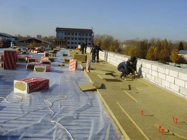 схема постройки крыши