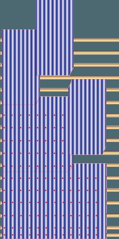 Схема размещения крепежных элементов