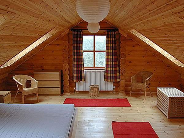 Схема крыши дома с мансардой фото