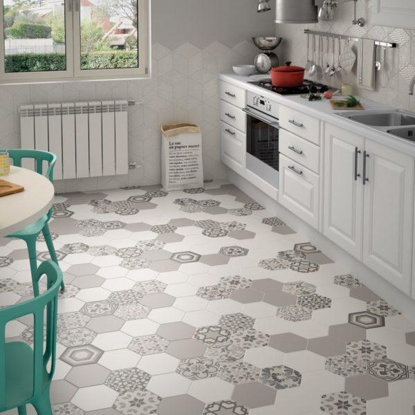 Какое напольное покрытие стоит выбрать для кухни