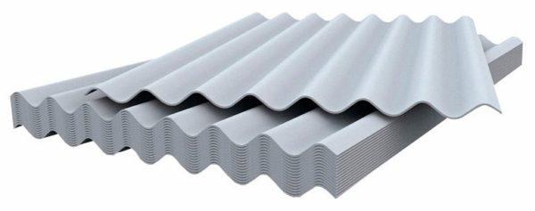Шифер — дешевый асбестоцементный материал, который стремительно теряет популярность