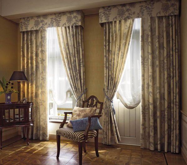 Как украсить квартиру с помощью красивых портьер