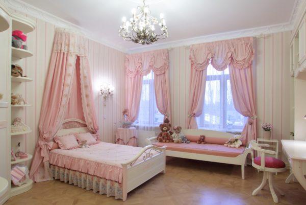5 вариантов штор для детской комнаты