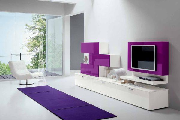 Как гармонично использовать сиреневый цвет в интерьере