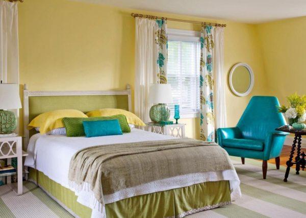 Как выбрать оптимальную цветовую гамму для спальни