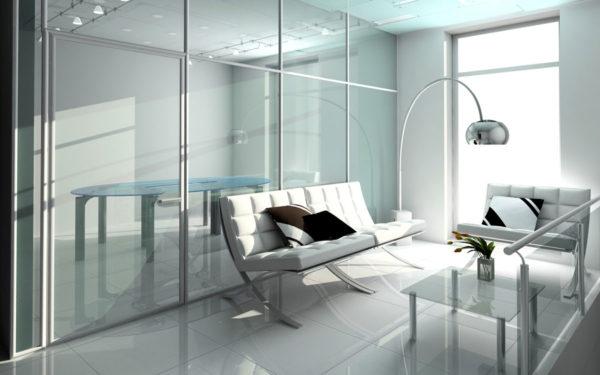 Что такое рифленое стекло и как его использовать в интерьере