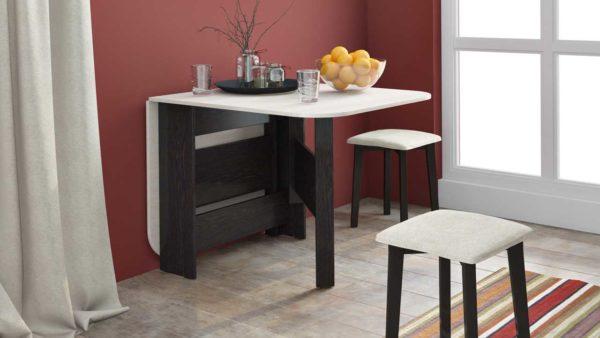 Как выбрать компактный стол в небольшую кухню